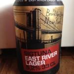 3 Sigtuna Brygghus, East River Lager